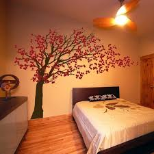 Small Picture Cherry Blossom Tree Blowing in the Wind Wall Decals Your