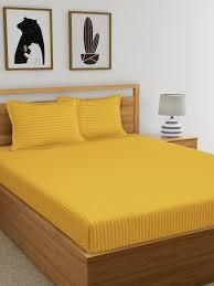 dreamscape mustard yellow cotton