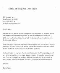 Professional Resignation Letter Templates Cool Formal Letter Of Resignation Template Elegant Template Letter