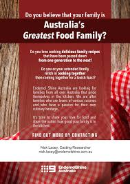 Urgent Casting Call � Family Food Fight - Perth