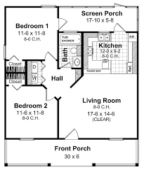 Small House Plans Under 800 Sq FT  800 Sq Ft Floor Plans 800 Square Foot House Floor Plans