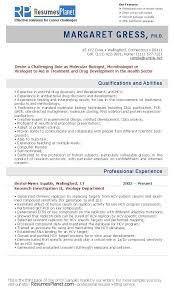 Cv Exemplars Cv Samples Resumesplanet Com