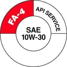 api will introduce a special service symbol donut to help consumers identify fa 4 sel engine oil the new donut features a shaded section to