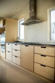 modern kitchen furniture. crisp simple and modern plywood kitchen oiled birch absolute black honed granite furniture