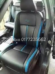 diy pvc pu leather car seat cover cushion for toyota vios