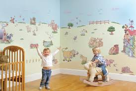 Small Picture Brilliant Suggestions for Making Kids Room Wall Decorations Look