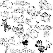Coloriage Animaux De La Savane Imprimer Sur Coloriages Info