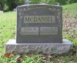 John Wesley McDaniel (1875-1902) - Find A Grave Memorial