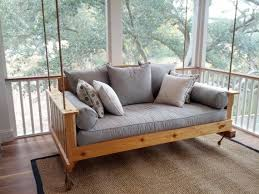 Cedar Swing Bed by CharlestonSwingBeds on Etsy, $1200.00
