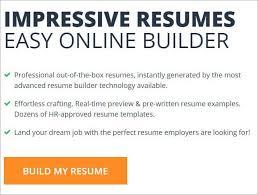 Job Resume Online Top 10 Free Online Resume Builder With Stunning Templates