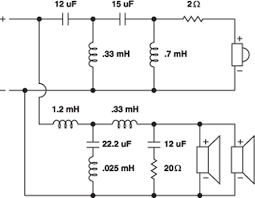 resources building a crossover amp crossover wiring diagram breaking down the schematic
