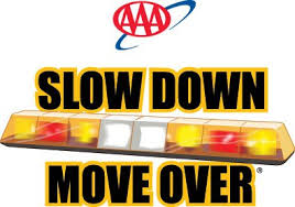 Image result for slow down and move over