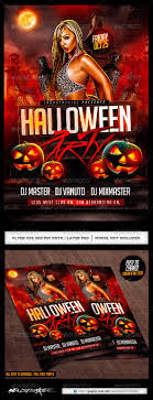 Halloween Party Flyer Halloween Party Flyer Template PSD By INDUSTRYKIDZ GraphicRiver 18