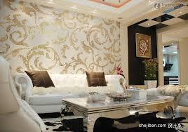 wallpaper decoration for living room on