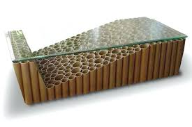 cardboard tube furniture. Furniture Made From Recycled Materials Cardboard Tube Coffee Table C