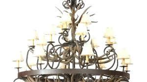 custom iron chandelier custom made wrought iron chandeliers photo design