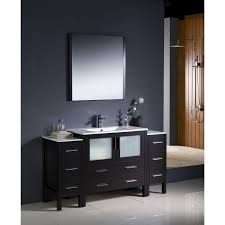 bathroom side cabinets. Fresca Torino 60-inch Espresso Modern Bathroom Vanity With 2 Side Cabinets And Undermount Sink - Free Shipping Today Overstock 17295492 I