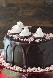 PEEPS Chocolate Peppermint Cake Life Love and Sugar