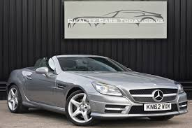 Beautifully designed, fitted with the latest technology and outstanding performance, mercedes are renowned for providing a sophisticated, premium and luxurious driving experience. Used Mercedes Slk Slk350 Blueefficiency Amg Sport U41 For Sale