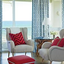 Red And Blue Living Room Coastal Colors Red White Blue Coastal Living