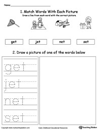 Printable word family worksheets and learning activities. An Word Family Phonics And Writing Practice Myteachingstation Com