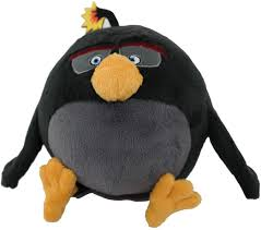 Amazon.com: Angry Birds Movie Bomb Plush, 7