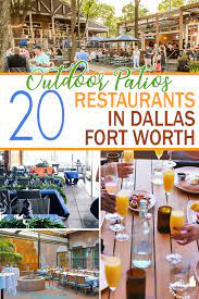 patio restaurants in dallas fort worth