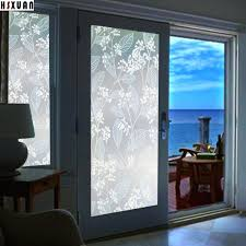 sliding glass door window sliding door glass window flower fruit tree living room decoration frosted window stickers brand in decorative s