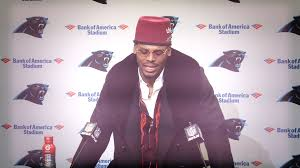 Panthers' Cam Newton shows off unique outfit | NBC Sports