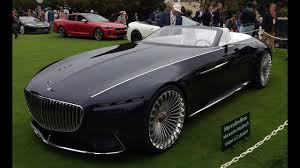 2018 maybach land yacht. exellent 2018 vision mercedesmaybach 6 cabriolet first look  2017 monterey car week to 2018 maybach land yacht