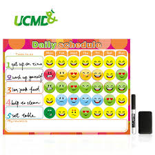 To Do List Charts Dry Erase Magnet Weekly Planner Creative To Do List Kids Schedule