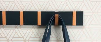 Flip Hook Coat Rack KNAX Coat Racks Handcrafted hooks in Wood or Color Denmark 70