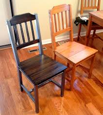 How to refinish a dining room table Refinish Wood Picture Of Refinishing Old Dining Room Set Instructables Refinishing Old Dining Room Set 12 Steps with Pictures