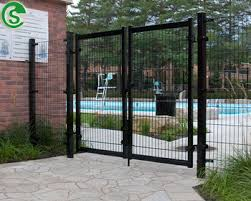 welded wire fence gate. Guangzhou Welded Wire Mesh Fence Gate Double 8/6/8 6/