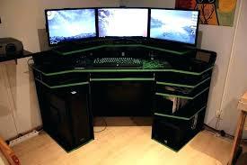 l shaped desk for gaming. Plain Desk L Shaped Gaming Desk Ideas Shape U Shaped  Gaming And L Desk For U