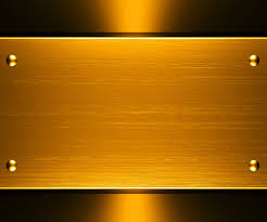 Blue And Gold Powerpoint Template Gold Metallic Design Backgrounds For Powerpoint Miscellaneous Ppt
