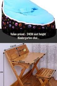 Levmoon Medium Leopard Print Bean Bag Chair Kids Bed For ...