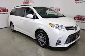 New 2018 Toyota Sienna XLE Mini-van, Passenger in Escondido ...