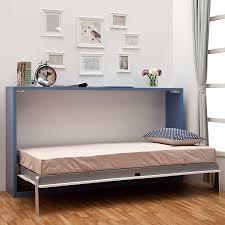 hidden wall bed. Horizontal Murphy Bed Within Smart Hidden Wall With Desk Tallwallbed Plans 13 D