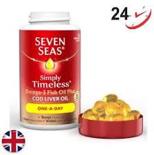image is loading seven seas omega 3 fish oil plus cod