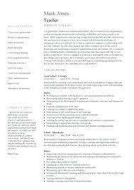 Teaching Template Job Description Teachers At School Inside
