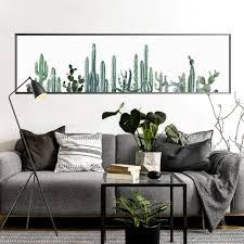Us 1349 10 Offframeloze Groene Planten Cactus Serie Art Canvas Decoratieve Muur Foto Modulaire Behang Poster Thuis Woonkamer Decoratie In