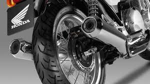 cb1100 ex modern classic street motorcycles honda uk honda cb1100 ex street studio twin silencers detail