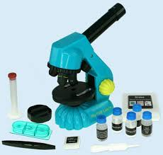 Science Gift Ideas for 5-6 year olds: Microscope Set Educational Toys 6 Year Olds