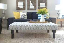 ottoman coffee table tufted an old table or coffee diy ottoman coffee table ikea