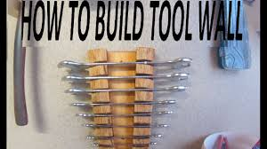 diy tool wall wrench holder