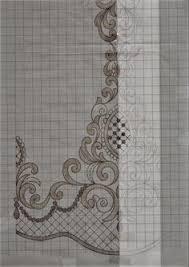 <b>3Yards 4cm Width</b> White Black Lace Trim Wedding Dress Ribbon ...