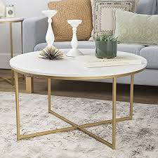 best round marble coffee table