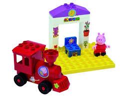 <b>Конструктор поезд с остановкой</b> Свинка Пеппа (Peppa Pig)