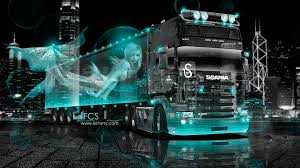 scania r6 fantasy nixie city